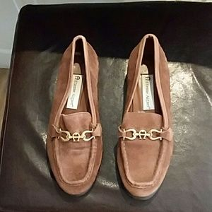Etienne Aigner leather & Suede shoes size 6.5